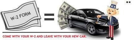 Bring W-2 Drive Out with a car